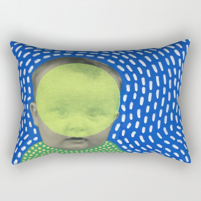 Fluo Yoga Rectangular Pillow