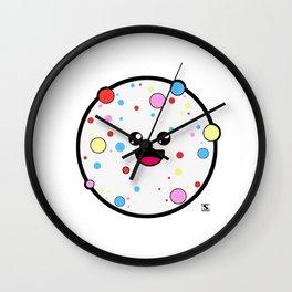 Sprinkled Candy Kawaii Wall Clock