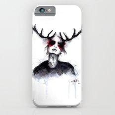 Antlers // Fashion Illustration iPhone 6s Slim Case
