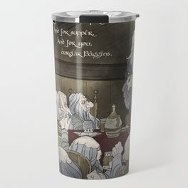 They've come for tea, & for supper, & for you Travel Mug