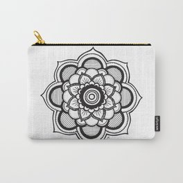 Mandala Illustration Carry-All Pouch