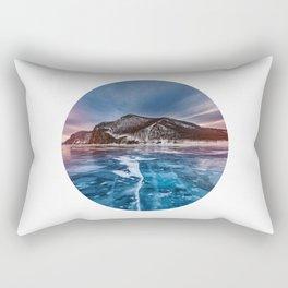 Snow Mountain No1 Rectangular Pillow