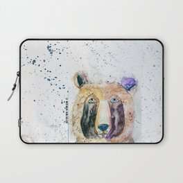 Bear-Woodland Series Laptop Sleeve