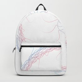 Trans Pride Spirograph Backpack