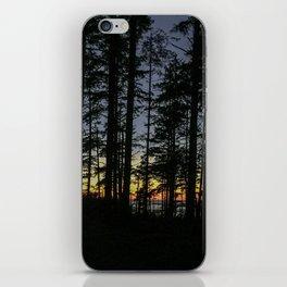 Sunset Thru The Trees iPhone Skin