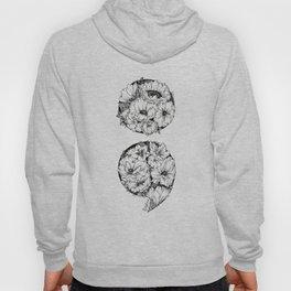 floral semicolon Hoody