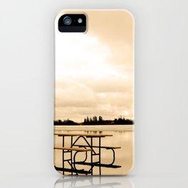 Picnic Island iPhone Case