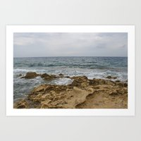 Maltese Waves Art Print