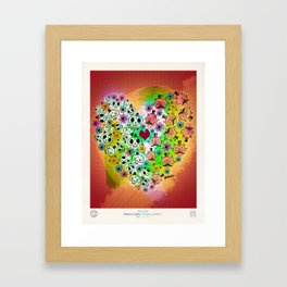 Calaveras y Diablitos Framed Art Print