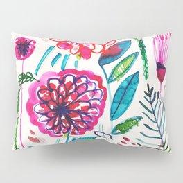 Wild Dahlias Pillow Sham