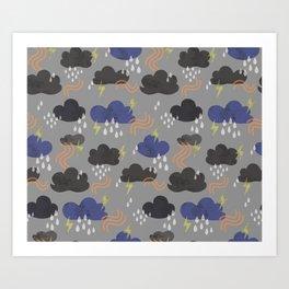 summer weather Art Print