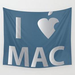 I heart Mac Wall Tapestry