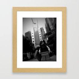 Vader Mr. Executive Framed Art Print