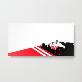 Haas Formula 1 2020 Metal Print