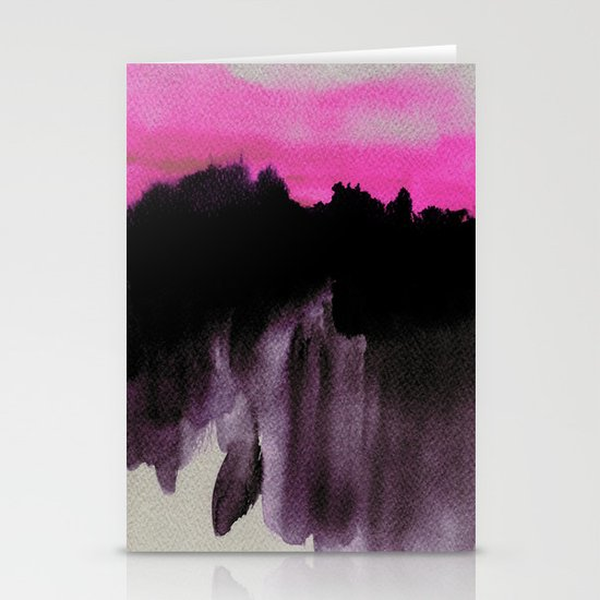 Deconstructed Horizon Stationery Cards