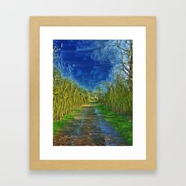 Natures Infusion. Framed Art Print