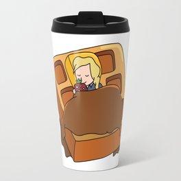 Leslie Knope + Giant Waffle Travel Mug