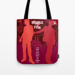 80s TEEN MOVIES :: RUMBLE FISH Tote Bag