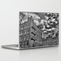 the office Laptop & iPad Skins featuring Office Equipment by Mark Alder