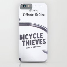 Bicycle Thieves - Movie Poster for De Sica's masterpiece. Neorealism film, fine art print. Slim Case iPhone 6s