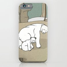 Polar Bear Mother and Son Slim Case iPhone 6s