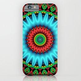 symmetry on black -07- iPhone Case