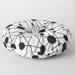 We're All Connected Floor Pillow