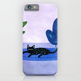 Lazy Weekend iPhone Case