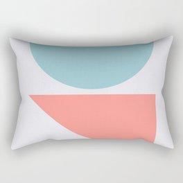 Geometric Form No.3 Rectangular Pillow