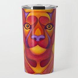 Fire Cougar Travel Mug