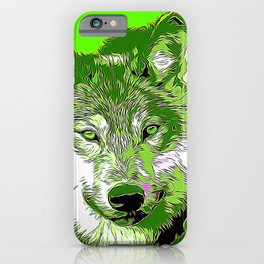 Wolf20151105 iPhone Case