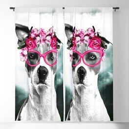 Wild Beauty Girly Doggy  Blackout Curtain