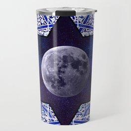 Moon star Travel Mug