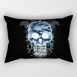 Extreme ride Rectangular Pillow