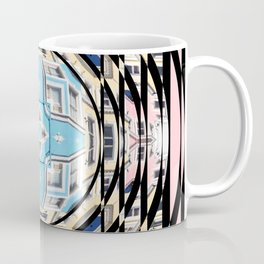 Perspective Aperture, Intersecting Pattern Coffee Mug