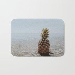pineapple at the beach iii Bath Mat