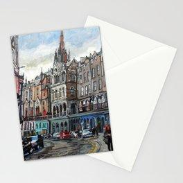 Victoria Street, Edinburgh Stationery Cards