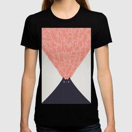 Cat Landscape 102: Vol-cat-no T-shirt