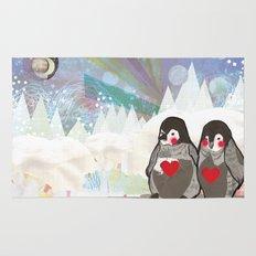Baby Penguins Rug