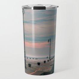 Windy day in the city of Trieste Travel Mug