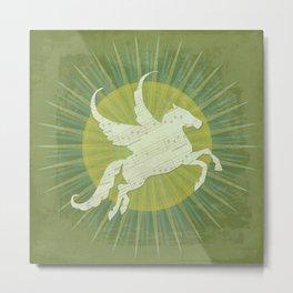 Circus: Pegasus Metal Print