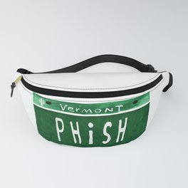 Phish license plate Fanny Pack