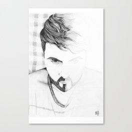 2 faces Canvas Print