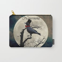 And the Raven Said, Nevermore (Inspired by The Raven) A657 Carry-All Pouch