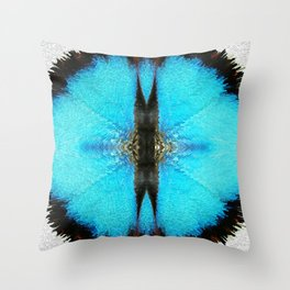 Good Karma - Abstract Art By Sharon Cummings Throw Pillow