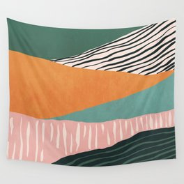 Modern irregular Stripes 02 Wall Tapestry