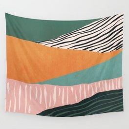 Modern irregular Stripes 02 Wall Tapestry