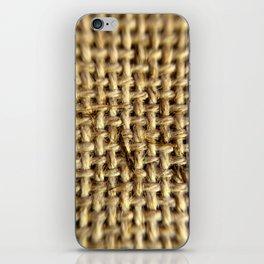 Twine Sheet - Macro Photography iPhone Skin