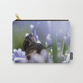 Honeybird amongst the agapanthas Carry-All Pouch