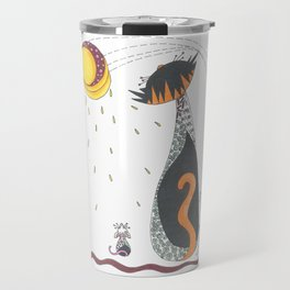 Cat & Mouse Ponder the Universe Travel Mug